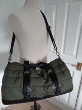 BNWT Polo Ralph Lauren Olive Mountain Nylon Puffa Duffle Hold All Overnight Bag