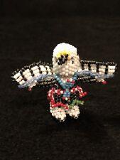 Zuni Beadwork Native American Indian Eagle Dancer Beaded Figure