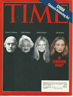 Time Magazine June 29, 1998 China Clinton's Balancing Act  Very  Good Cond.