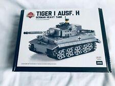 Brickmania Lego Tiger I Ausf H - Premium Black Box Kit. New