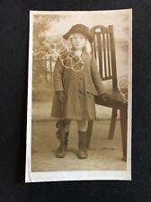 Vintage Postcard - RP Anonymous Child - #17