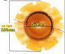 2pcs 52mm 80W~200W Tweeter voice coil horn sound film Speaker Diaphragm