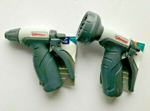 Set of 2 Gilmour Light-duty Plastic Hose Spray Nozzles Watering & Cleaning NEW
