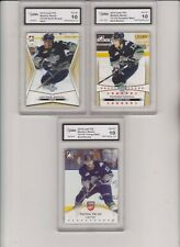 2014/15 ITG MATHEW BARZAL GOLD PARALLEL RC SET 3 CARDS ALL #d/100 GRADED 10 MINT