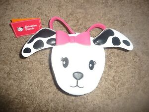 NEW NWT Gymboree Dalmation Friends Kids Purse dog bag with moveable ears CUTE