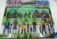 Fortnite 12cm tall Action figures set of 6 AU Toy Kids Boys Gift Cake toppers