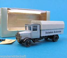 Roskopf H0 1006 Mercedes L5 1931 Reichsbahn Frkt Oldtimer LKW Nostalgie 1:87 RMM