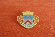 19653 PIN'S PINS FRANCE MONTGERON 91 ESSONNE BLASON ECUREUIL SQUIRREL