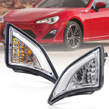 Clear Lens LED Corner Lamp for 13-up Toyota GT86 Scion FR-S Turn Signal DRL Assy