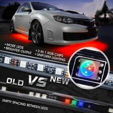 8 Color 5050 RGB LED Strip Under Car Tube Underglow Underbody System Lights Kit