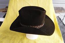 18587c47d Cowboy Brown Vintage Hats for Men 7 1/4 Size for sale   eBay