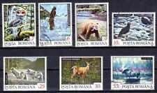 Animaux Faune sauvage Roumanie (59) complète 7 timbres oblitérés