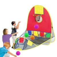 Foldable Basketball Shooting Tent Ocean Ball Game Tent Pit Outdoor for Kid