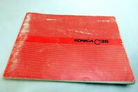 Konica C35 rangefinder Photoguide Camera Guide Manual English