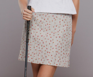 New with tags ~ Clare Hare Darien Golf Skort ~ Gingham Rose Size 8 Retail $ 120