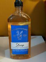 BATH & BODY WORKS AROMATHERAPY SLEEP LAVENDER CEDARWOOD WASH SHOWER GEL FOAM NEW