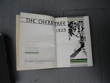 1935 George Washington University College Yearbook DC District Columbia