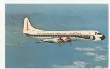 Fly Eastern Air Lines Lockheed Electra L188A Aviation Postcard, A667
