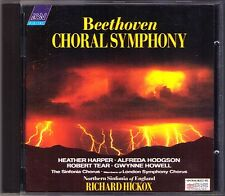 Richard Hickox: Beethoven Symphony No. 9 HEATHER HARPER Gwynne Howell Tear rstatd CD