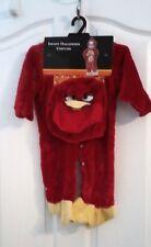 "Infant Halloween Angry Bird Costume  13"" Neck to SnapCrotch,8""Leg  -Free Bag"