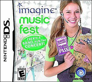 Imagine Music Fest Nds GAME NEW