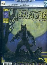 Famous Monsters of Filmland #252 CGC 9.6 NM RARE Stout Werewolf Cover