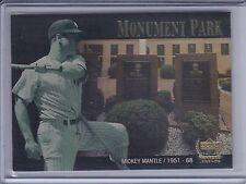 MICKEY MANTLE 2000 Upper Deck Yankees Legends Monument Park #MP3   (B7834)