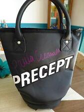 Paula Creamer Autographed Precept Golf Ball Shag Bag Pink Panther LPGA FREE Ship
