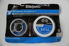 Bernzomatic Ssw300pk Plumbing Solder Kit Plumbing Repair Solder Flux Lead Free