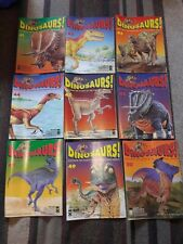 DINOSAURS! Magazines 1992 Orbis Play & Learn Issues # 41 - 50