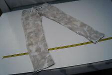 TRUE RELIGION Damen Jeans Hose stretch Hüft Röhren Gr.31 W31 camouflage TOP #82