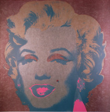 Marilyn Monroe (Marilyn), 1967 (Silver) by Andy Warhol Art Print Poster 11x14