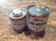 Lab Metal  48 oz & 16 oz. Lab  Solvent