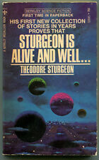 Theodore Sturgeon STURGEON IS ALIVE AND WELL First Printing Berkley S2045