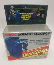 Vintage Laser Fire Backpack Brave Star Action Figure Accessory 1986 Unpunched