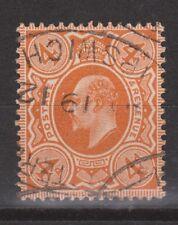 Great Britain nr 119 used EDWARD VII 1902 VEILING oude postzegels ENGELAND