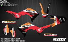 2017 CRF450 CRF 250 graphics kit decals Honda MX stickers motocross 2018 2019 GP