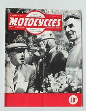 ANCIENNE REVUE MOTOCYCLES N° 54 - 15 JUIN 1951 *