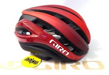 Giro Aether MIPS Cycling Helmet Matte Bright Red Black Medium