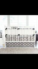 New Arrivals 4 Piece Swiss Cross BABY Nursery Crib Bedding Set $590