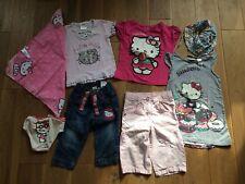 Kleiderpaket Mädchenkleidung Mädchen Hello Kitty 74 80 86 92 104 110 116