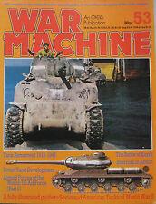 War Machine magazine Issue 53 Soviet and American Tanks of World War II, Sherman