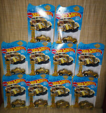 # HOT WHEELS 2018 LOT of 10 pcs PASS'N GASSER GOLD 50th ANNIVERSARY ITALY #