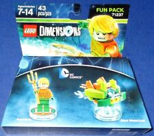 Lego Dimensions DC Comics Aquaman + Aqua Watercraft Fun Pack# 71237 *New!