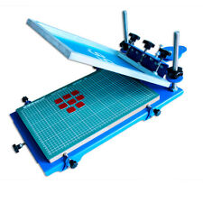 INTBUYING 3D Silk Screen Printing Press Machine Micro-Registration 17.5x11.5Inch
