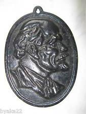 CCCP authentique bas-relief de LENINE Soviétique URSS 1930-40