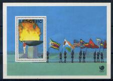 Lesotho 1990 Mi. Bl. 76 Foglietto 100% ** Giochi Olimpici