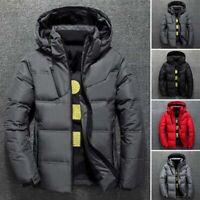 Ultralight Duck Down Winter Jacket Puffer  Outwear/Coat Warm Thicken Hooded Mens