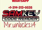 SAMKEY Code Reader SERVER 20 CREDITS Pack Unlock Any Samsung no Root - FAST