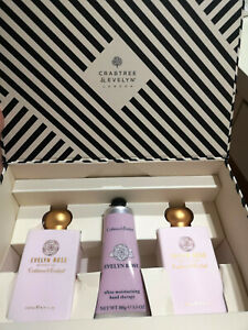 Crabtree  Evelyn Evelyn rose gift set no box